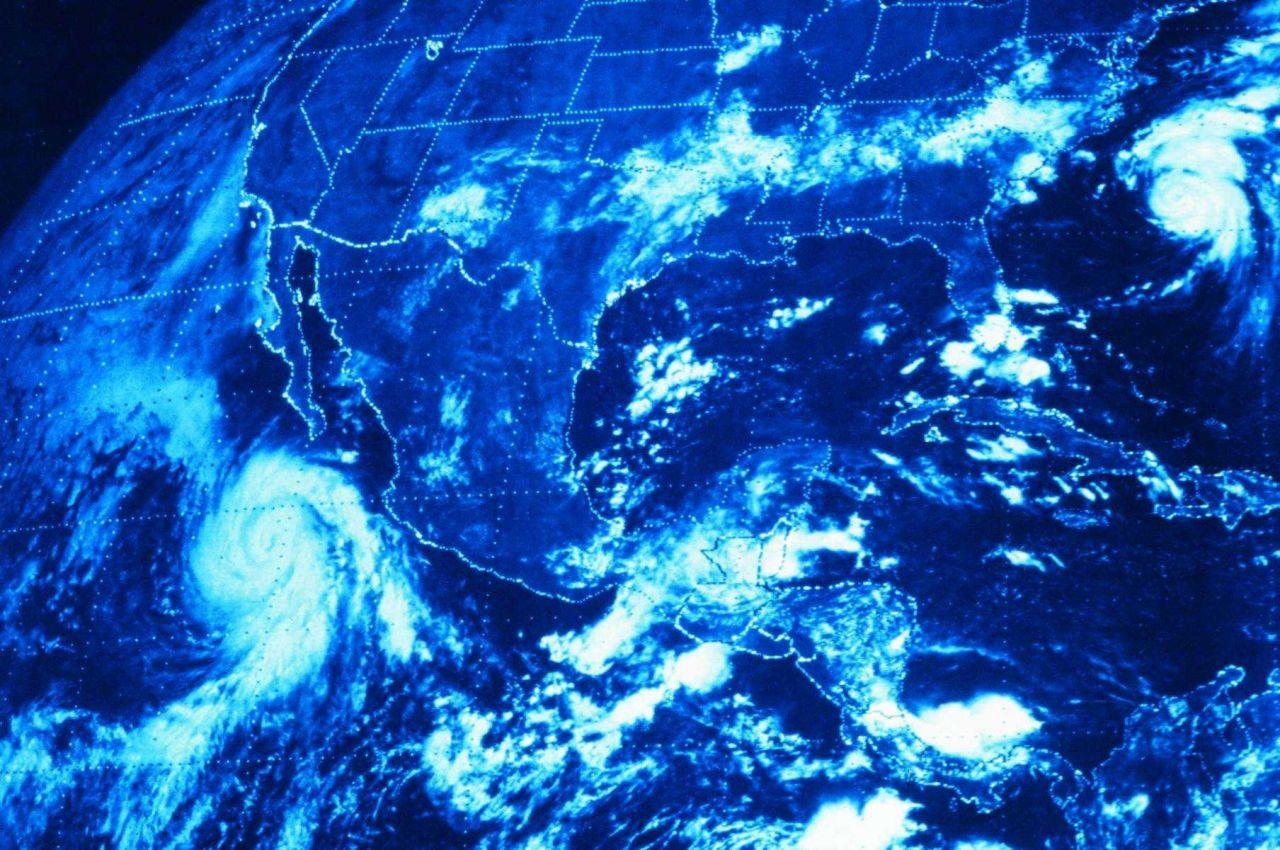 Hurricane Norman south of Cabo San Lucas, Baja California Photo