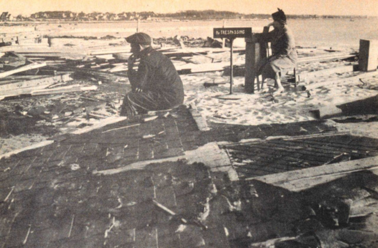 The Harbor View district, southeast of New Bedford, was devastated Photo