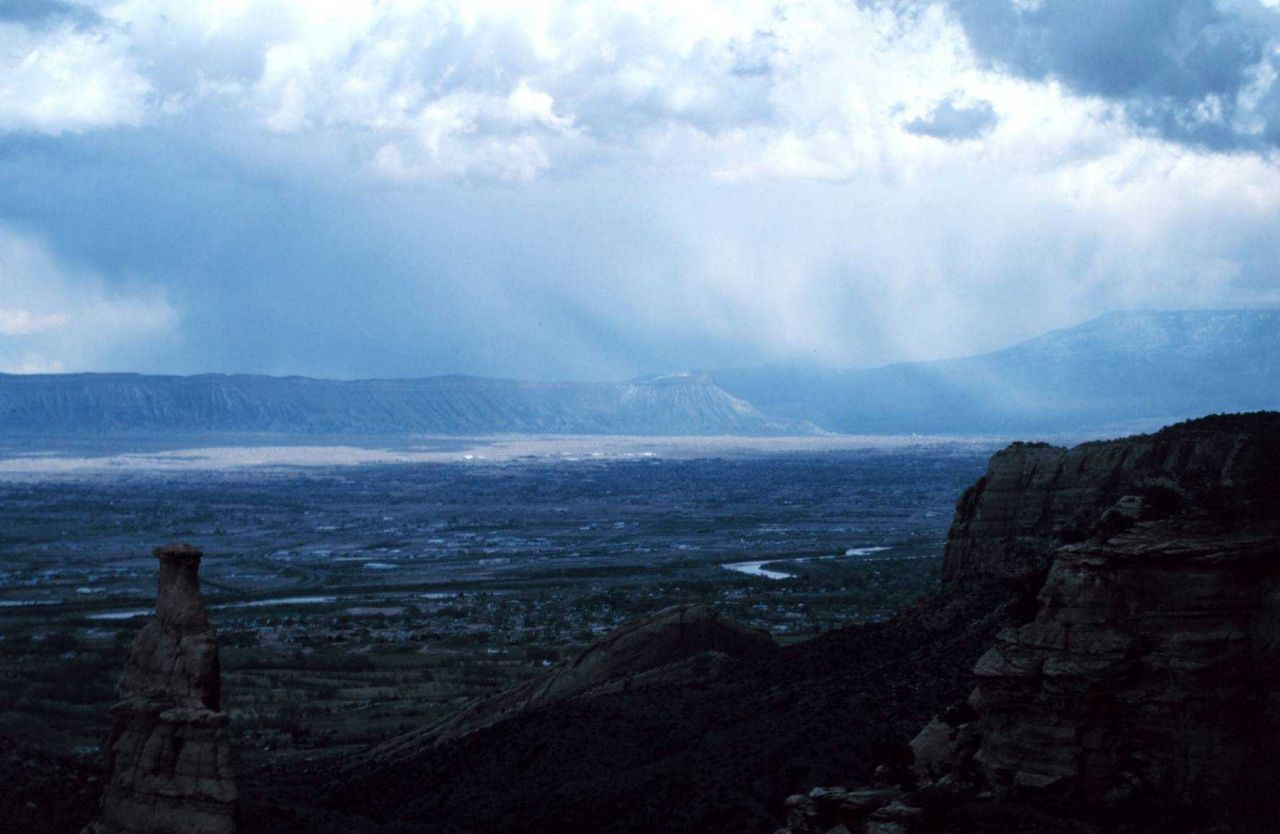 Stormy day on the Colorado Plateau. Photo