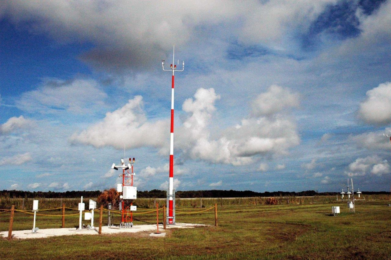 Automated Surface Observing System (ASOS) installation. Photo