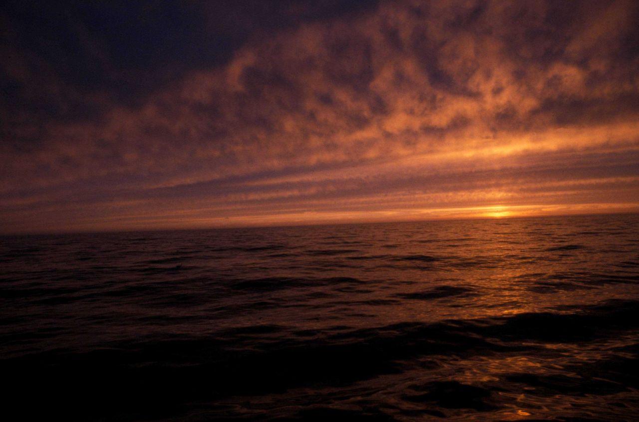 A Bering Sea sunset Photo