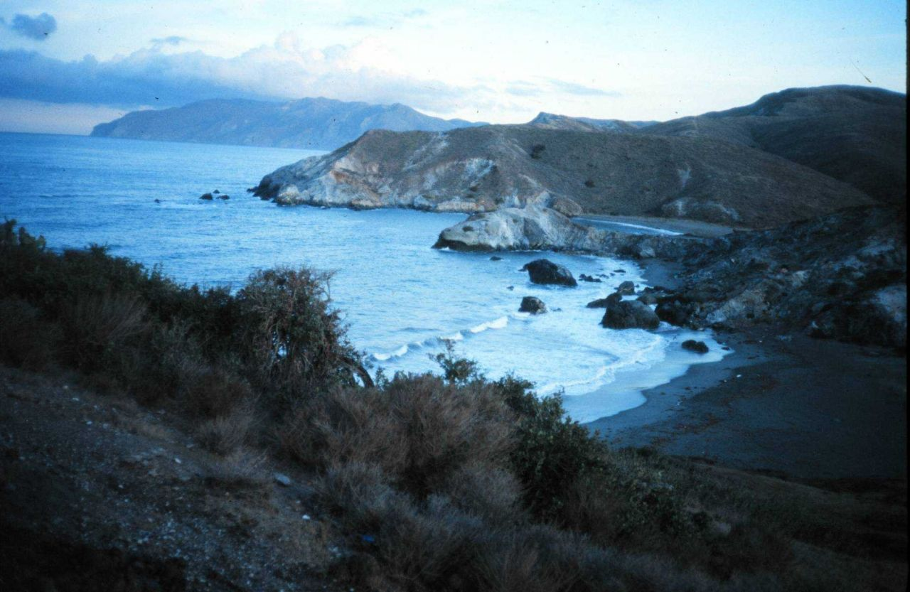 Catalina Island off southern CA, former home of a NURP center. Photo