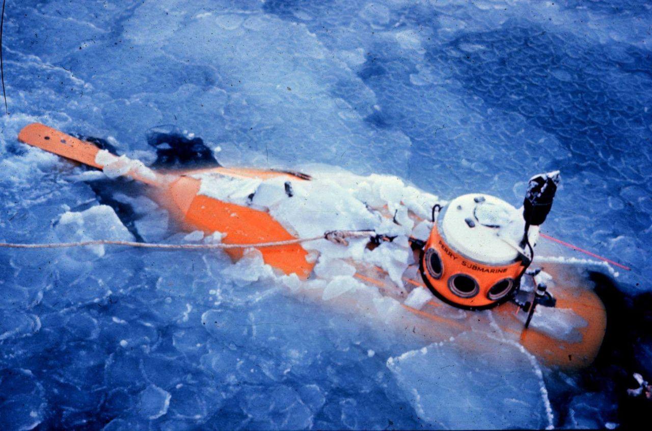 PC-8 hunts walrus in the Bering Sea. Photo