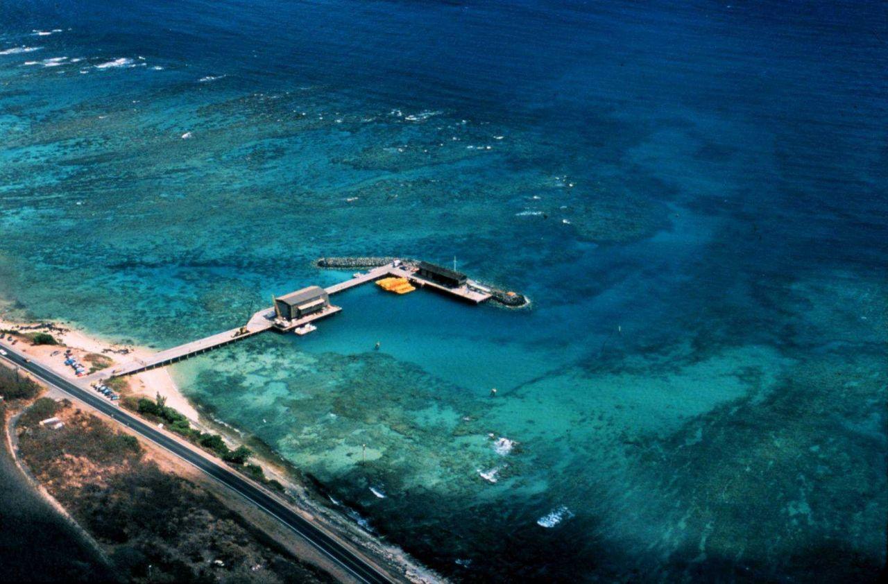 Snug Harbor Hawaii, field base for the Hawaii Undersea Research Lab. Photo