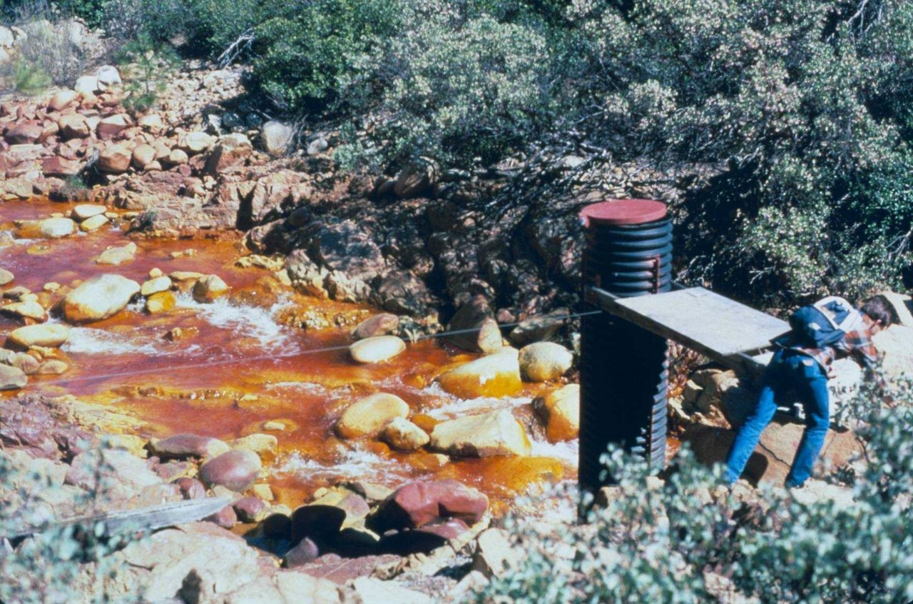 Spring Creek discharge. Photo