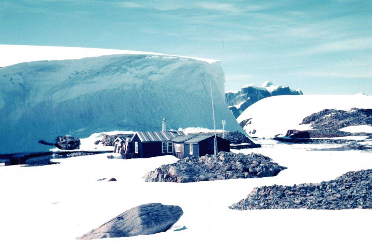 Old British Base F on Winter Island Photo
