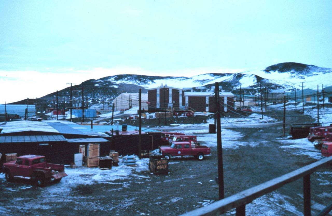 A view of the facilities at McMurdo Sound Station Photo
