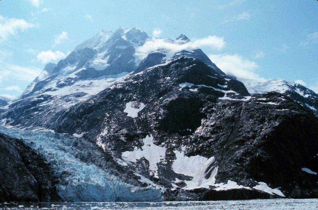 Clark Glacier - Johns Hopkins Inlet Photo