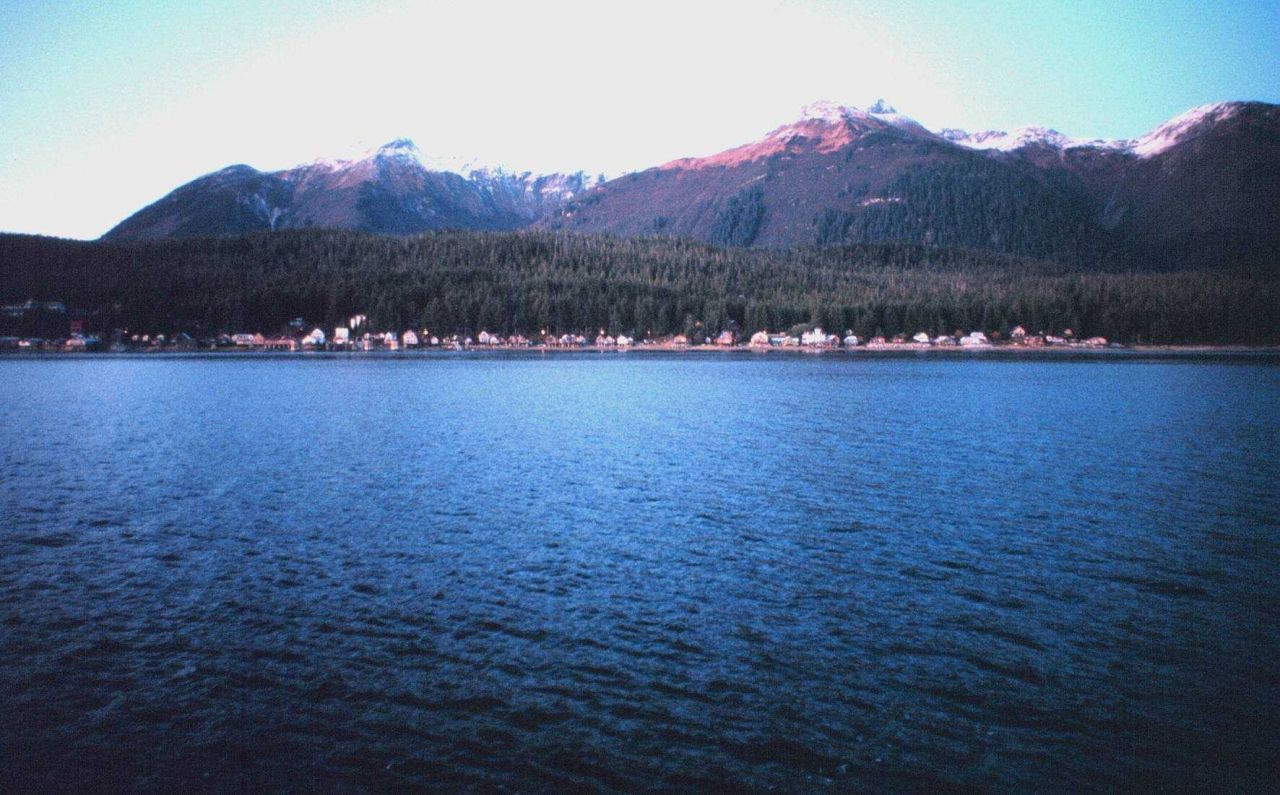 Tenakee Springs - a small Alaska town on Chicagof Island. Photo