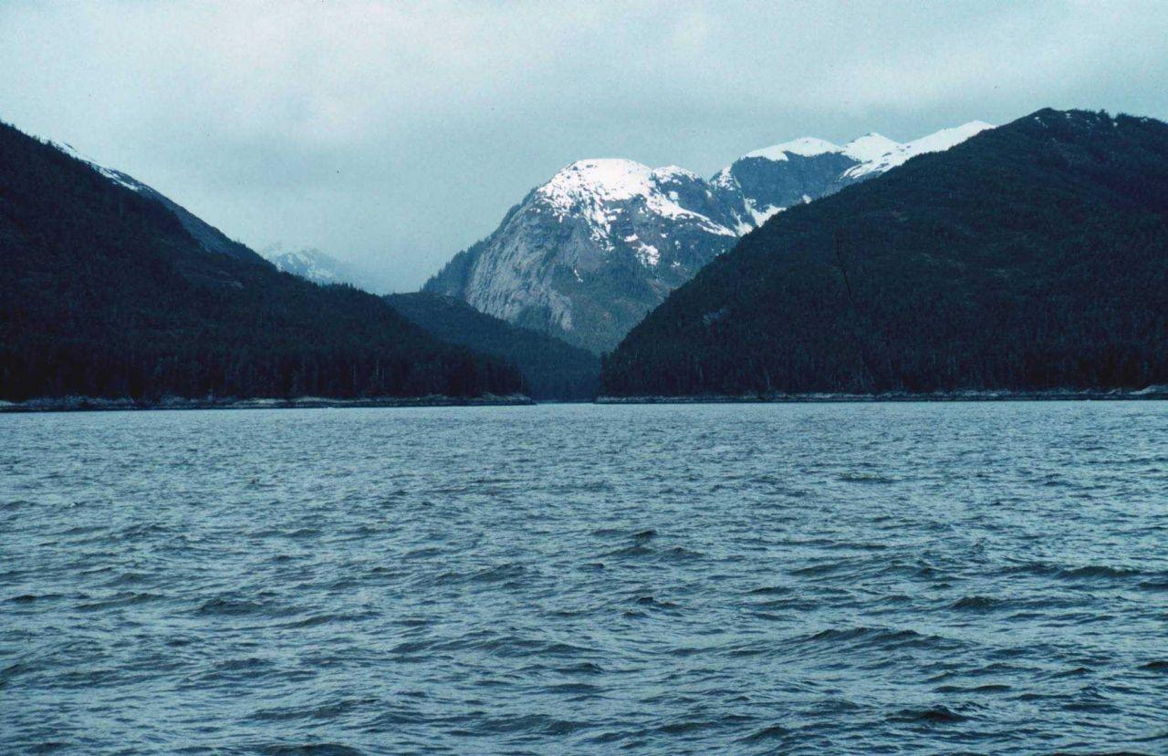A mountainous passage. Photo
