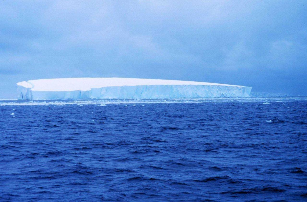 Iceberg drifting Photo