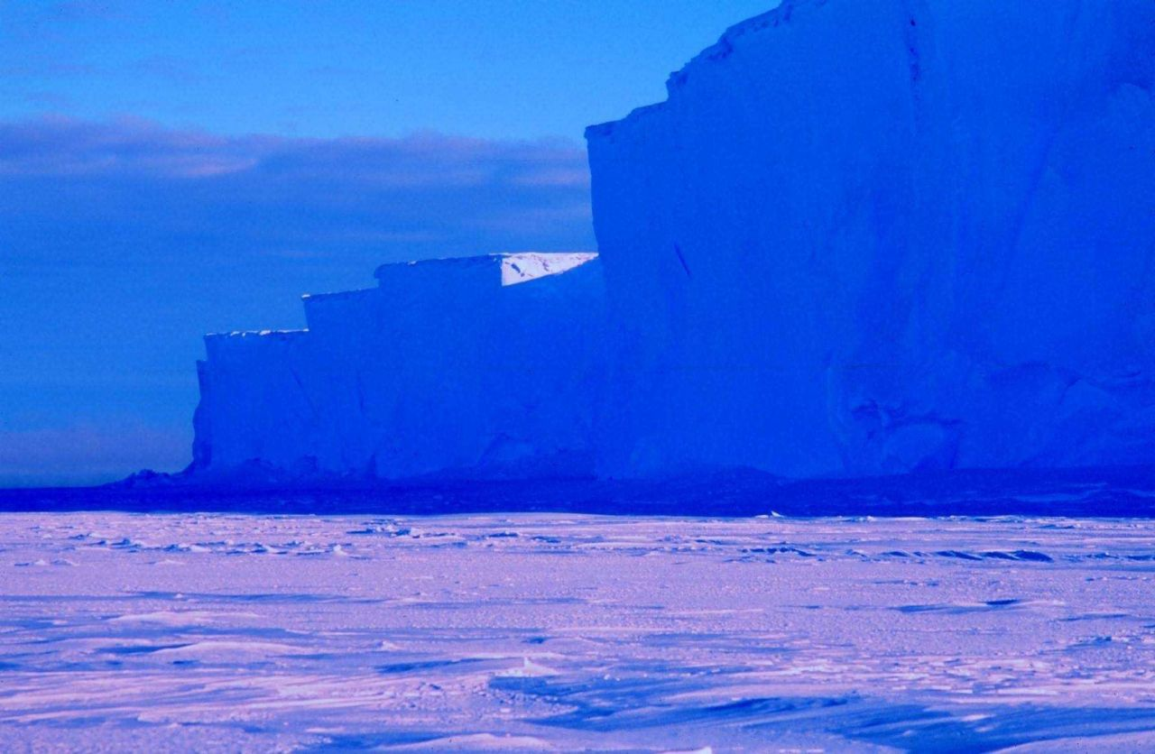 The Ross Ice Shelf at the Bay of Whales Photo
