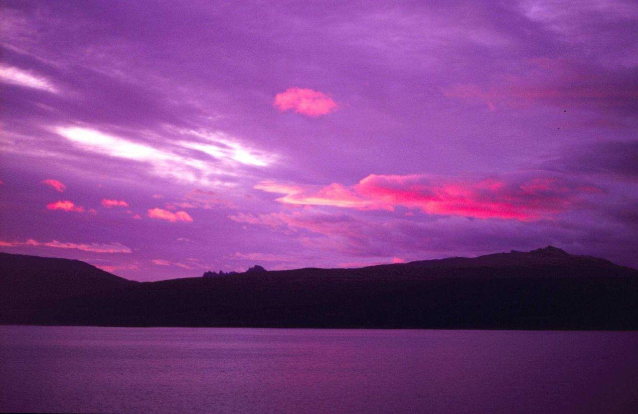 Antarctic sunrise. Photo