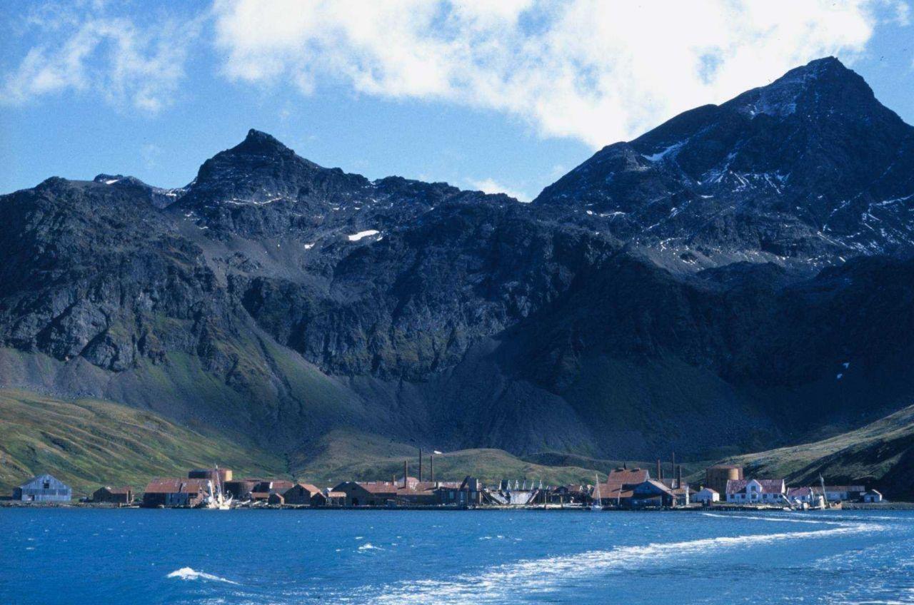 Abandoned whaling station at Grytviken Photo