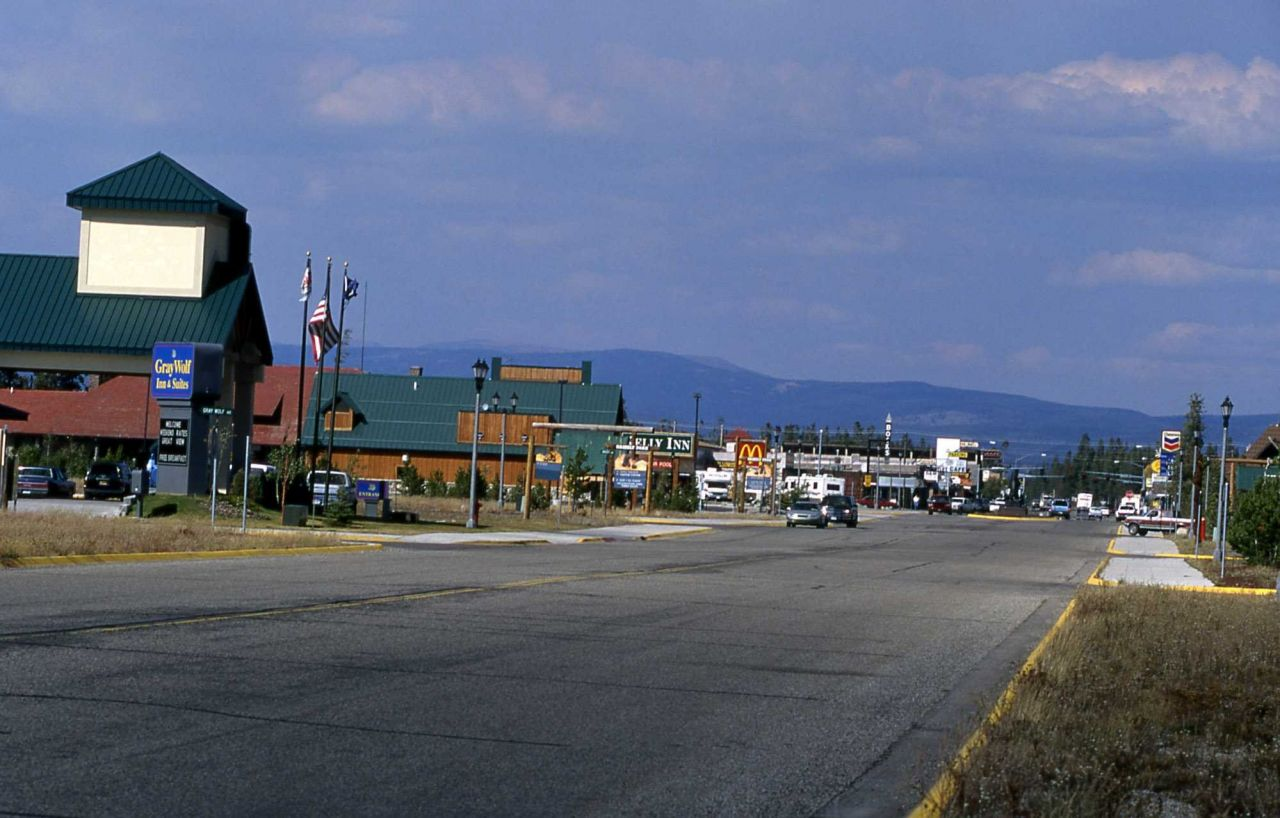 West Yellowstone business district Photo