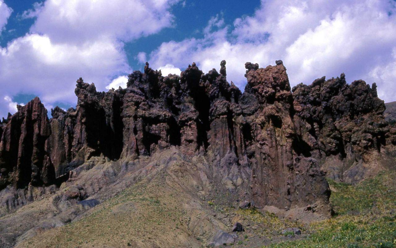 The Hoodoos - Geology Photo