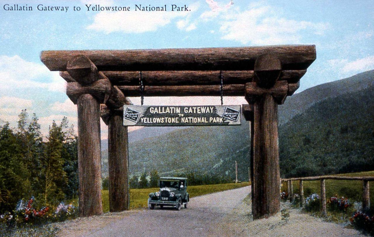 Gallatin Gateway to Yellowstone National Park Photo