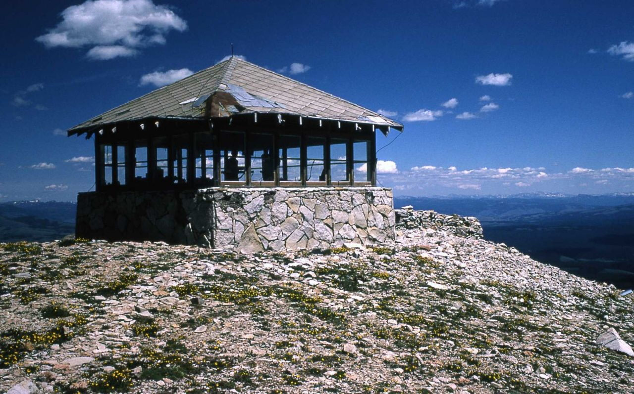 Mt Holmes fire lookout Photo