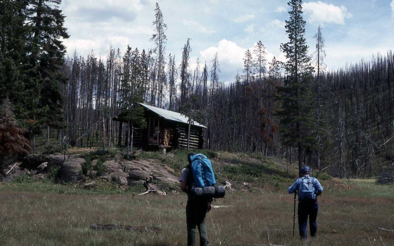 Cougar Creek patrol cabin Photo