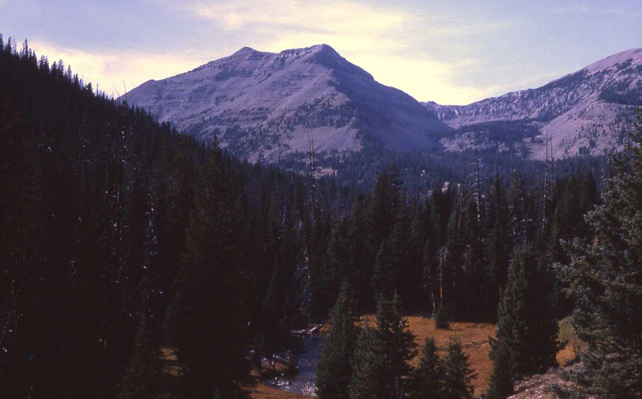 View of Bannock Peak from Bighorn Pass Photo