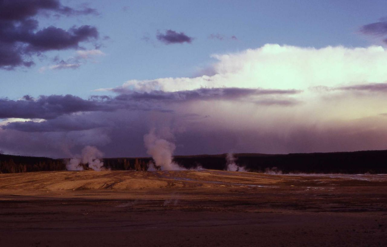 Unnamed thermal feature in the Fountain Group - Midway & Lower Geyser Basin Photo