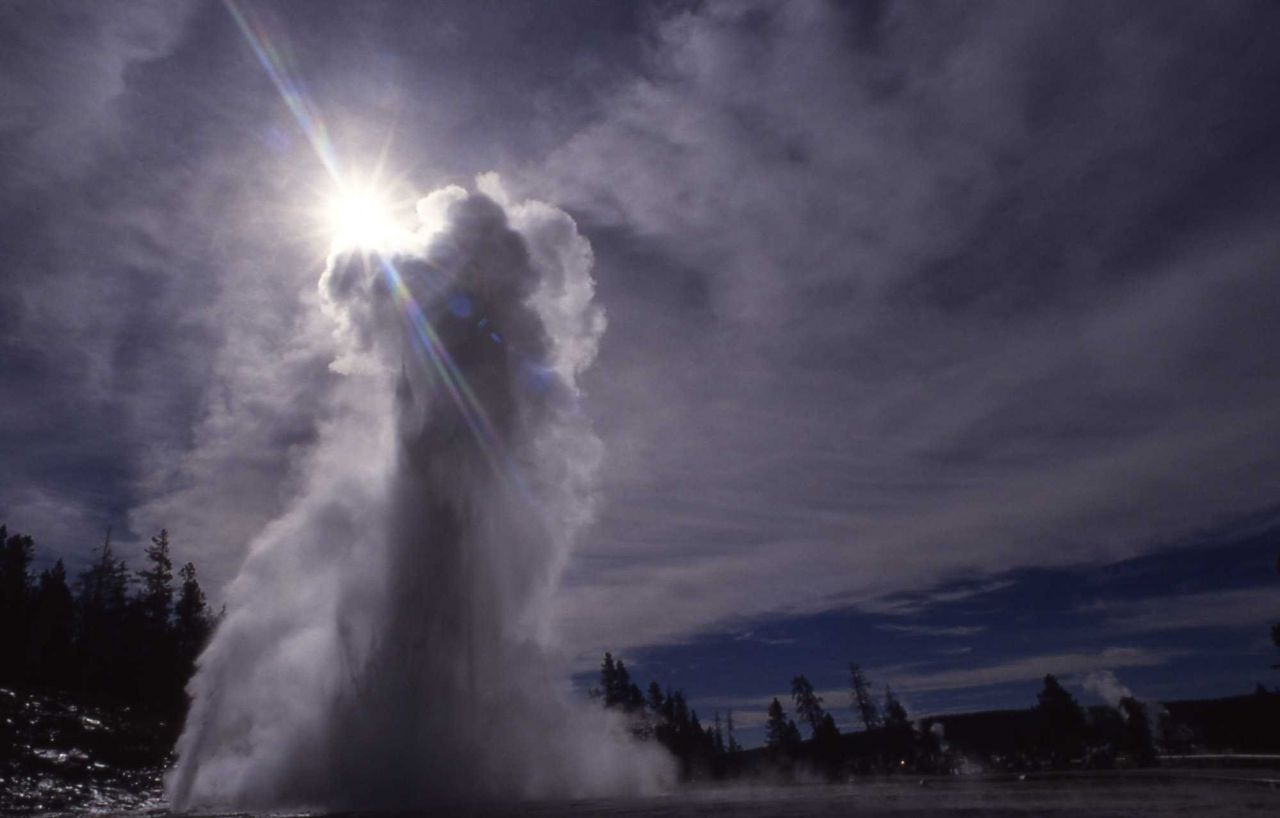 Grand Geyser - Upper Geyser Basin Photo