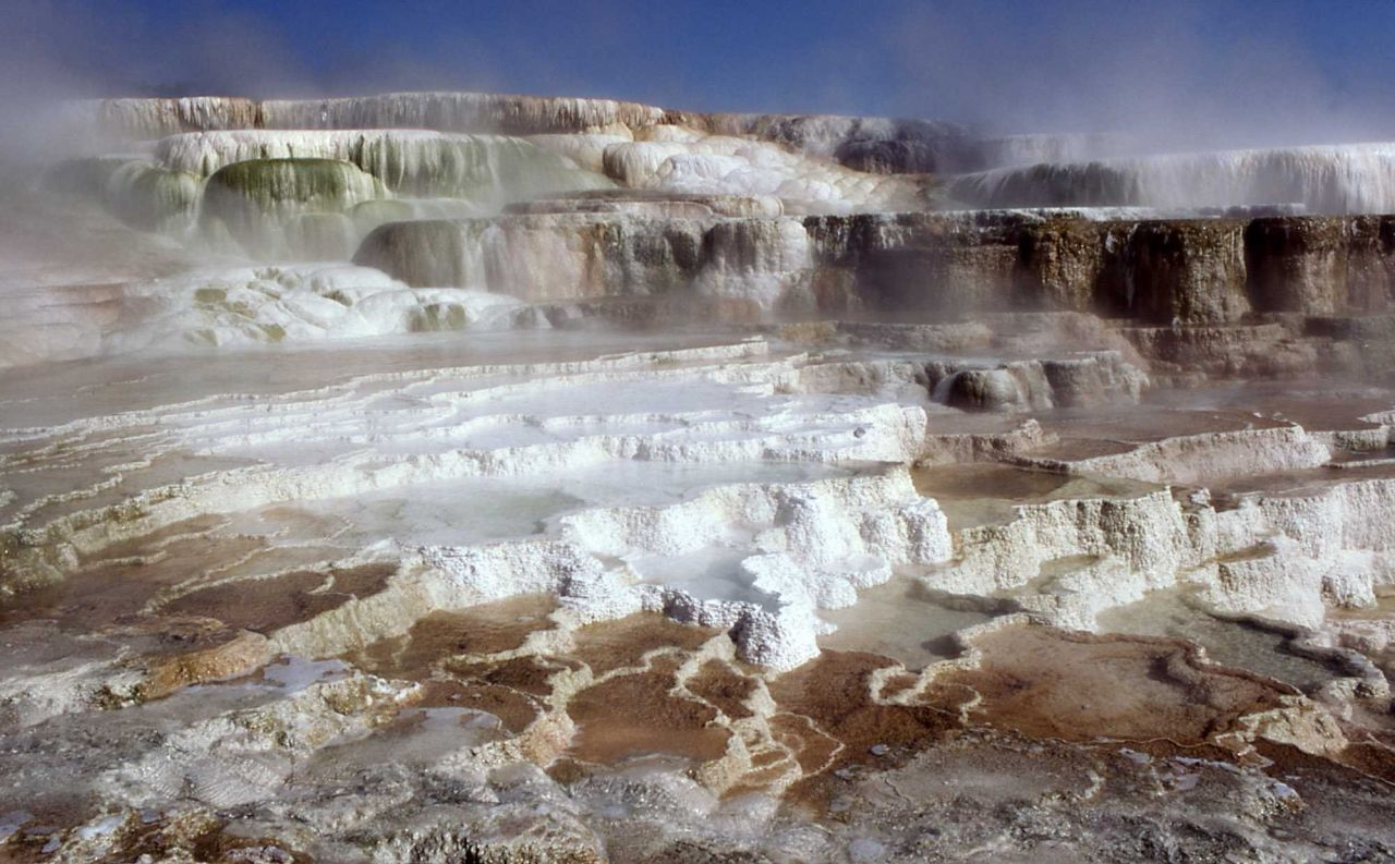 Browse high quality images photos pictures for Minerva terrace yellowstone