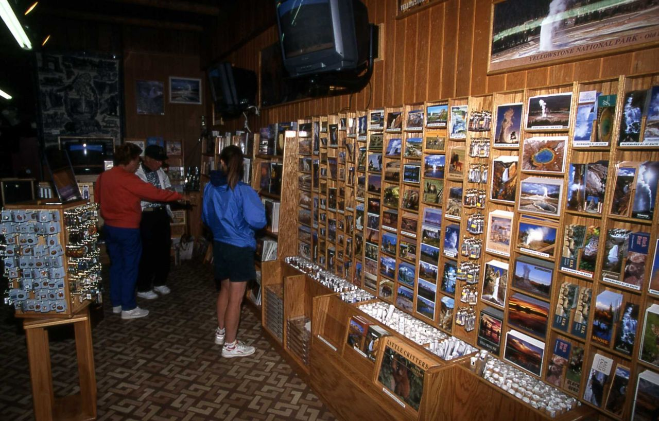Gift shop at Old Faithful Lodge Photo
