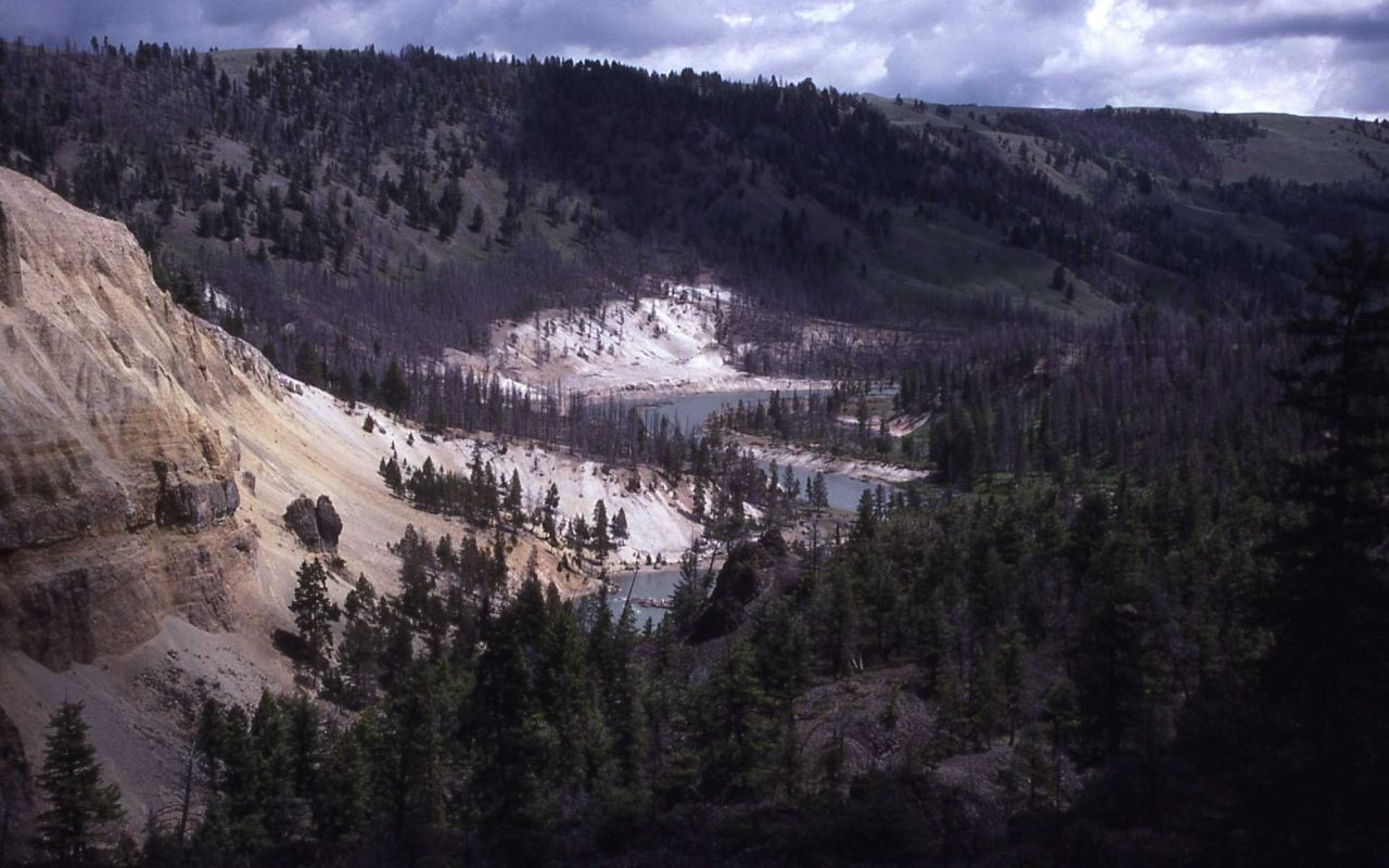 Yellowstone River at Bannock Ford near Tower Falls Photo