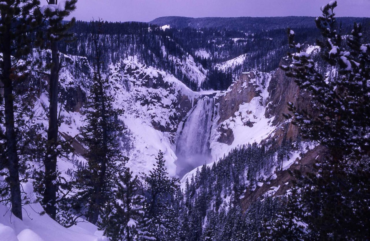 Lower Falls in the winter Photo