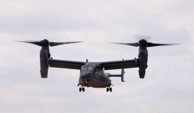 CV-22 Osprey - Heritage to horizons Picture