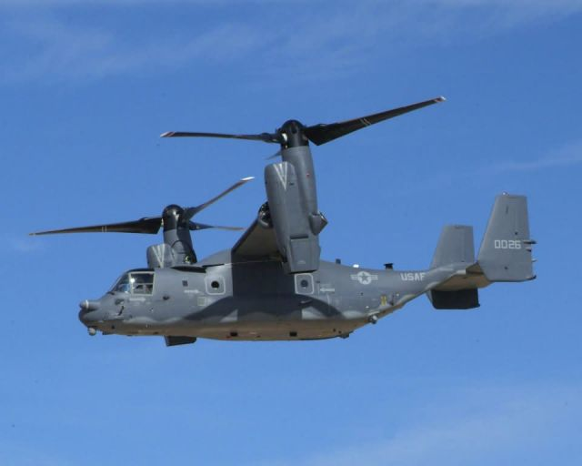 Kirtland Air Force Base - Osprey Picture
