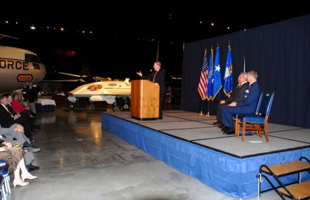 Boeing X-45A - X-45A Ceremony Picture