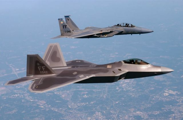 F/A-22 Raptor - Langley Air Force Base - 1st Fighter Wing has traveled the world Picture