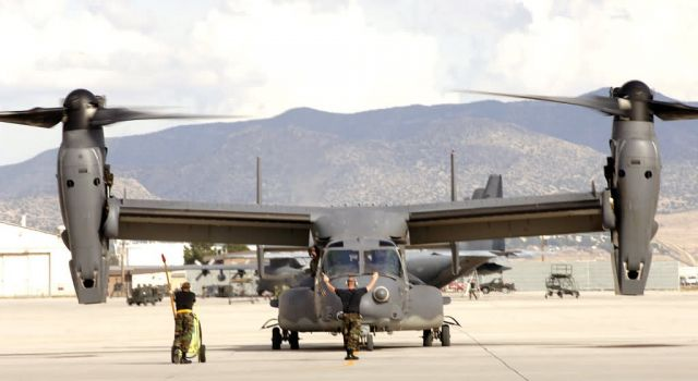 CV-22 Osprey - Pilots thrilled by CV-22 capabilities Picture
