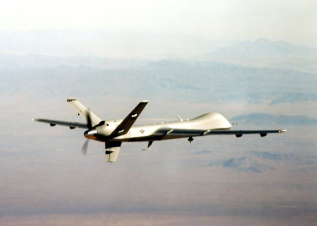 MQ-9 - 'Reaper' moniker given to MQ-9 unmanned aerial vehicle Picture