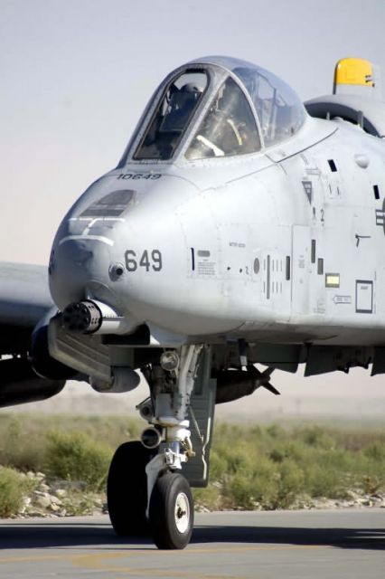 81st Expeditionary Fighter Squadron - Bagram A-10s surge for summer offensives Picture