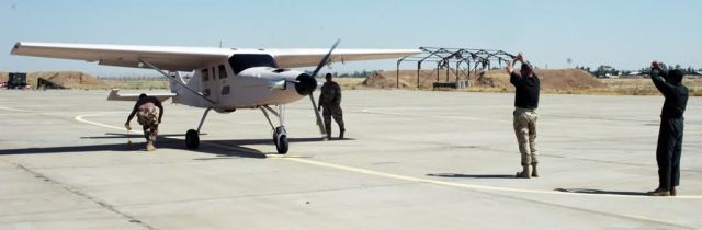 Air 7SLX aircraft - Mission accomplished for Airmen on project team Picture