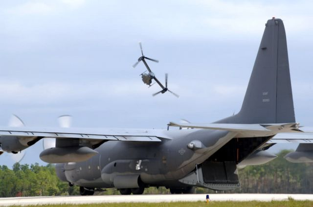 A CV-22 Osprey - Hurlburt Field's Heritage to Horizon commemoration - Heritage to horizons Picture