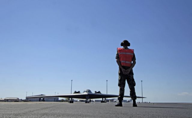Royal Australian Air Force Base Darwin - Green Lighting tests Pacific bomber force Picture