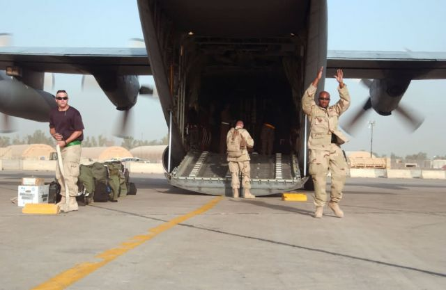 C-130 Hercules - On the flightline at Sather Air Base Picture