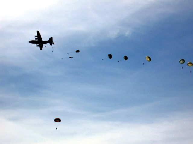 C-130 Hercules - Parachute drop brings appreciation for freedom Picture