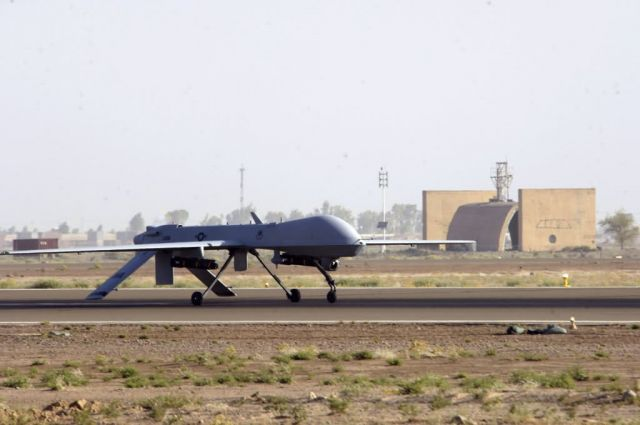 MQ-1 Predator - Unmanned engagement Picture