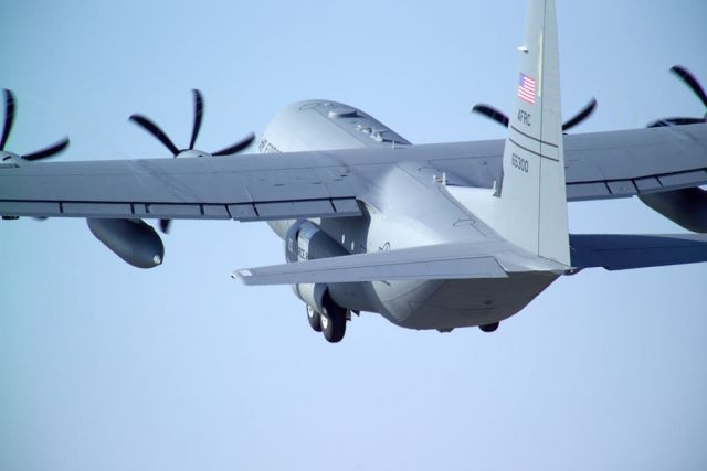 WC-130J Hercules - Hurricane Hunters track down Alberto Picture