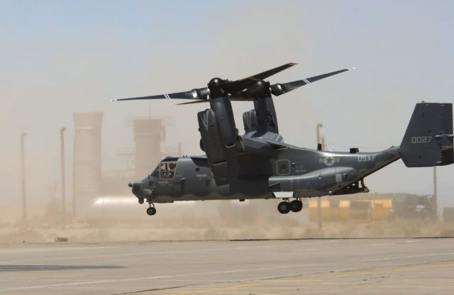 CV-22 Osprey - Ospreys in flight Picture