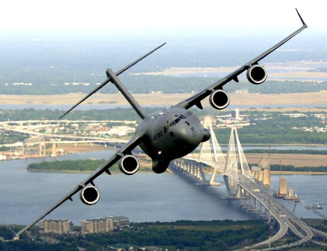 C-17 Globemaster III - C-17s over Charleston Picture