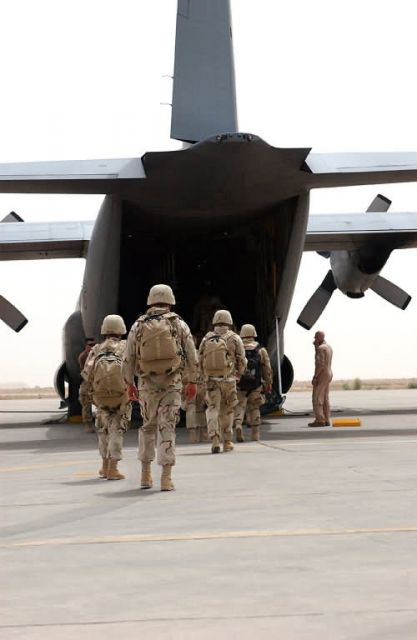 C-130 Hercules - Pushing freight: ATOC moves cargo in, out of Ali quickly Picture