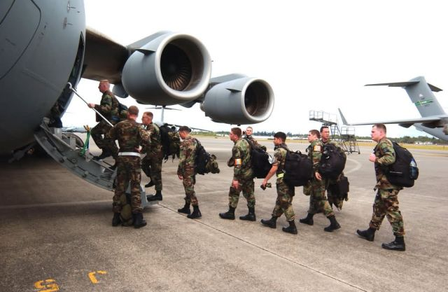 McChord Air Force Base - Thunderbolt in Michigan Picture