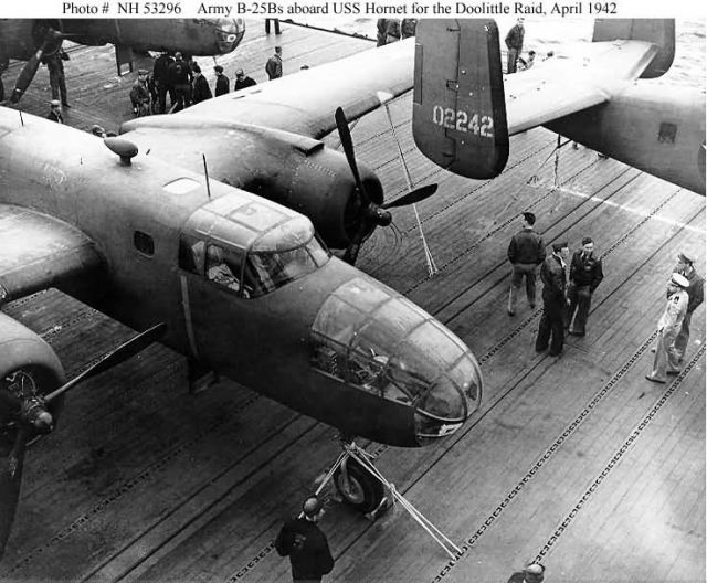 B-25B bombers - Doolittle Raid Picture