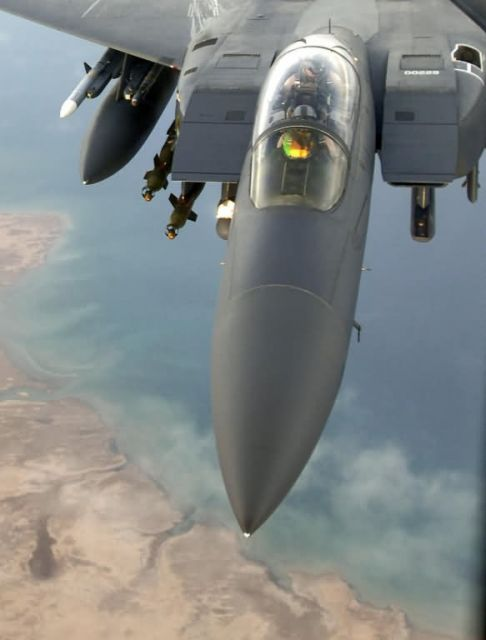 F-15E Strike Eagle - Targeting pods enhance battlefield awareness Picture